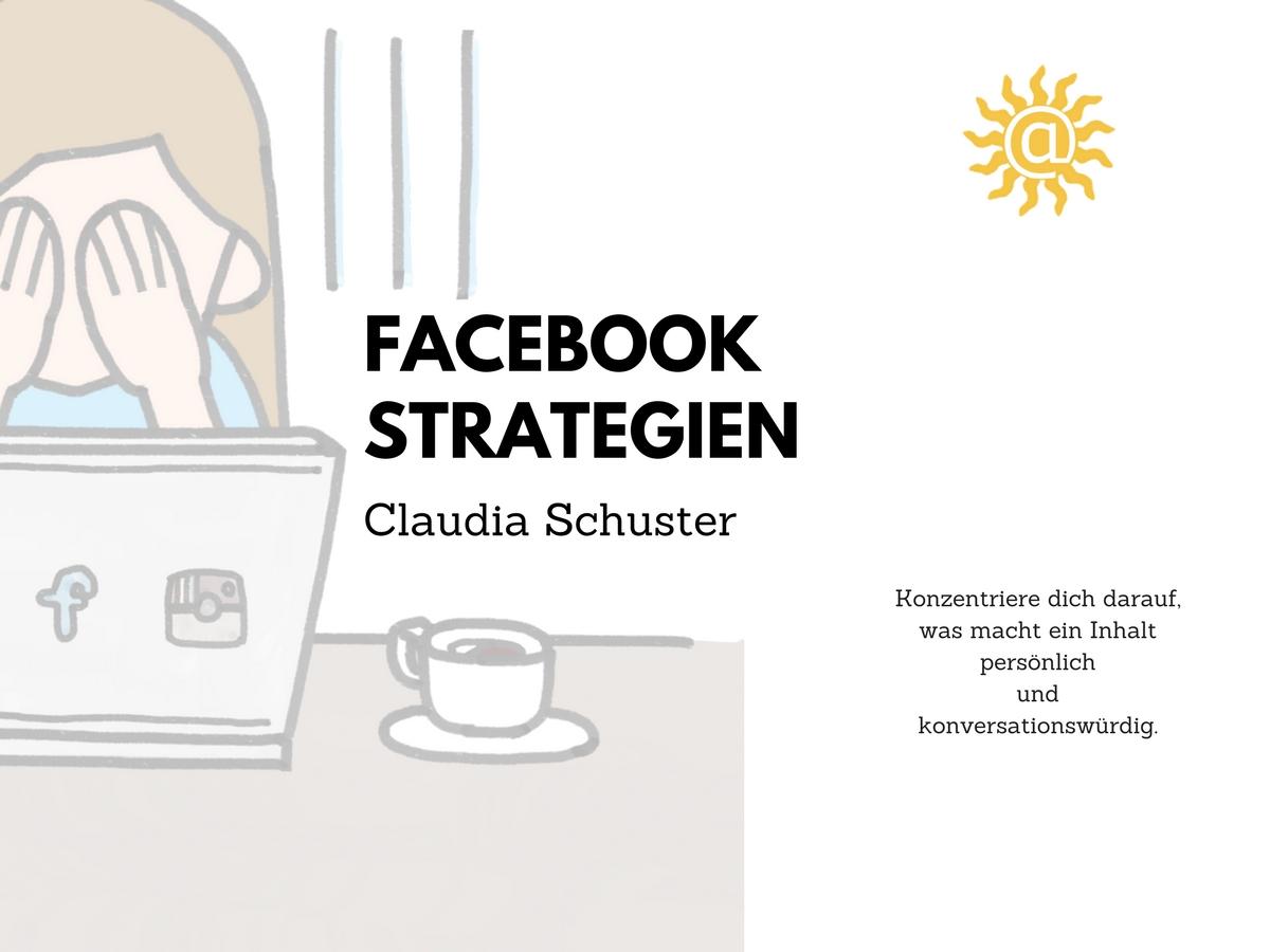 facebook Strategien webganzeinfach