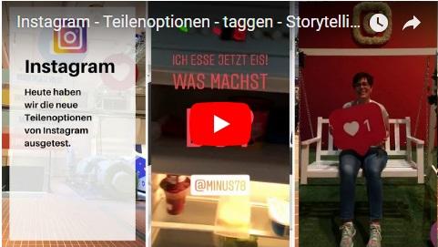 instagram story neues update juni 2018 #webganzeinfach