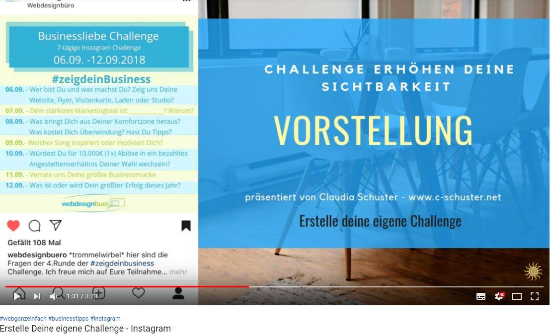 instagram challenge erstellen - ganz einfach