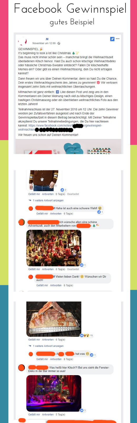 facebook gewinnspiel - alles richtig gemacht - gutes Beispiel