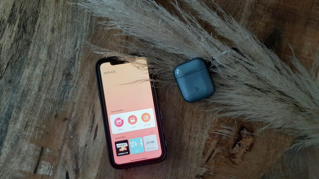 iphoneXR Video Hochformat schneiden - App InShot